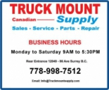 Truck Mount Supply Canada