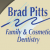 Brad Pitts, Family and Cosmetic Dentistry Icon