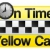 On Time Yellow Cab Icon