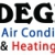 Degree Air Conditioning and Heating Icon