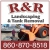 R&R Landscaping and Tank Removal Icon