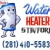 Water Heater Stafford Icon