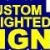 Custom Lighted Signs Icon